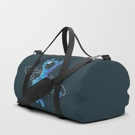 Space Hula Hoop Duffle Bag