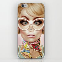 fly iPhone & iPod Skins featuring Fly Away by Giulio Rossi