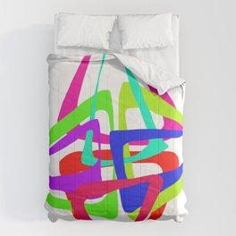 Crop circle color Comforters