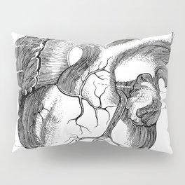 Anatomic hearth engraving Pillow Sham