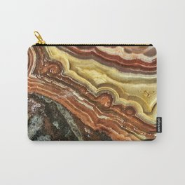 Lace Agate Carry-All Pouch