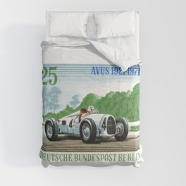 1971 GERMANY Audi Avus Automobile Race Stamp Comforters