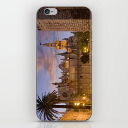 Seville, The Cathedral at dusk iPhone Skin