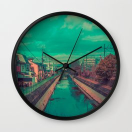 Kyoto Canal Wall Clock