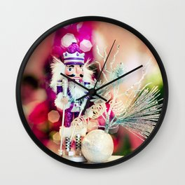 Dreamy nutcrackers 1 Wall Clock