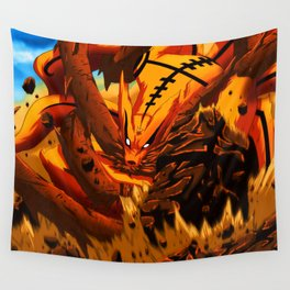kyuubi angry Wall Tapestry