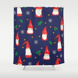 Christmas Gnomes- Hope for Lizzy Fundraiser Shower Curtain