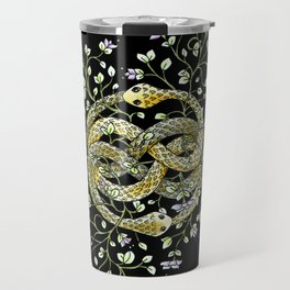 Neverending Story Inspired Auryn Garden in Black Travel Mug