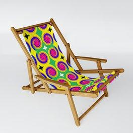 Swirly Pattern 1 Sling Chair