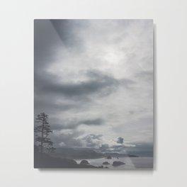 Uneasy Sea Metal Print