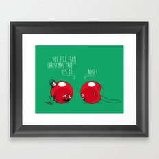 WHO NOSE ? Framed Art Print