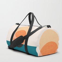 Abstraction_NEW_SUNSET_OCEAN_WAVE_POP_ART_Minimalism_0022D Duffle Bag