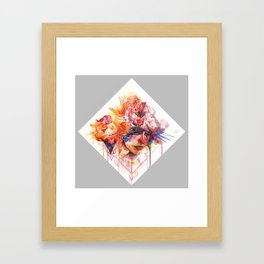 The In-Between Framed Art Print