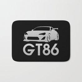 Toyota GT86 - silver - Bath Mat