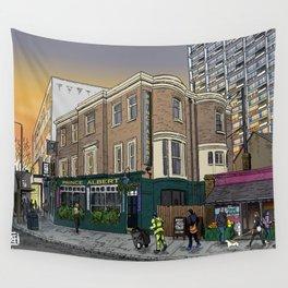 London Sunrise Wall Tapestry