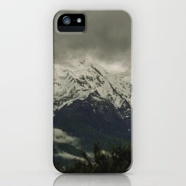 The Call of the Mountain 003 iPhone Case