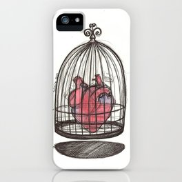 Don't touch me iPhone Case