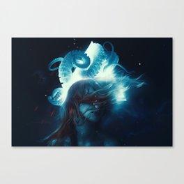 Dreams In Lovecraft Canvas Print