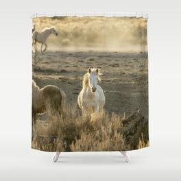 The Wild Spirit Shower Curtain