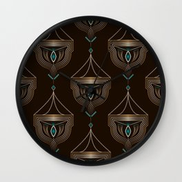 Art Deco No. 4 Wall Clock