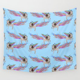 Warrior Sloth Wall Tapestry