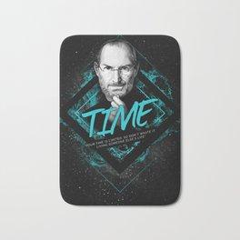 Steve Jobs Motivational Art and Quote Bath Mat