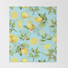 Lemonade Throw Blanket