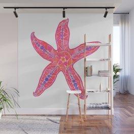 Starfish Wall Mural