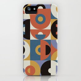 Geometry Games IV iPhone Case