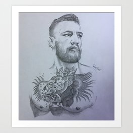 Conor McGregor Art Print