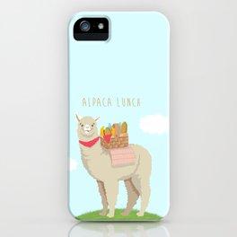 Alpaca Lunch iPhone Case