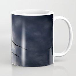 Fence broken hope blue Coffee Mug
