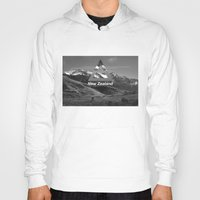 new zealand Hoodies featuring New Zealand by ztwede