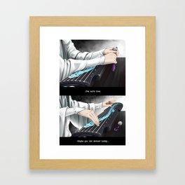 Mo Dao Zu Shi Lan WangJi Framed Art Print