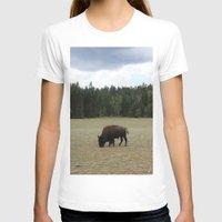 buffalo T-shirts featuring Buffalo  by Taylor Palmer