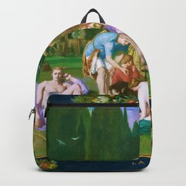 Pierre Puvis de Chavannes - Peace - Digital Remastered Edition Backpack