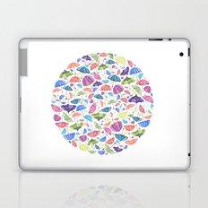 Umbrellas. Laptop & iPad Skin
