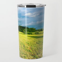 Chemin Richelieu, Saint-Mathias, Québec, Cananda Travel Mug