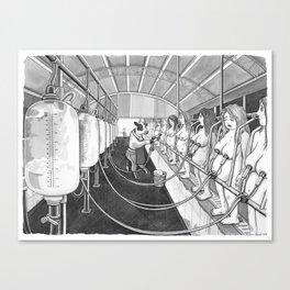 Milk Machine Canvas Print
