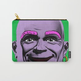 Mr Clean Pop Art on green background Carry-All Pouch