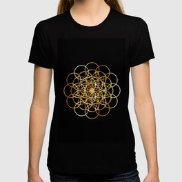Flower or circle of life T-shirt