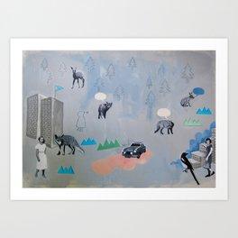 Vintern 1939 (The Winter 1939) Art Print