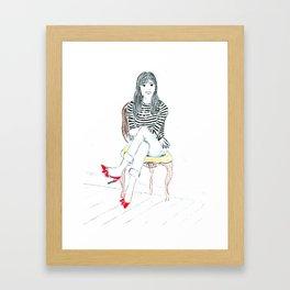 Coquette Framed Art Print