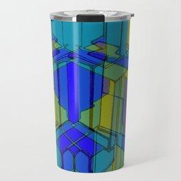 Cube Geometric II Travel Mug