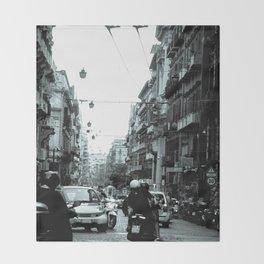 Naples, Spanish Quarter 1 Throw Blanket
