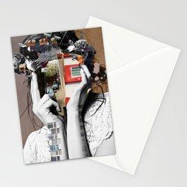 Crazy Woman - LisaLaraMix Stationery Cards