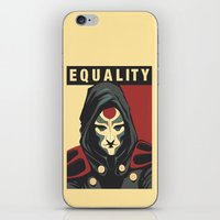 equality iPhone & iPod Skins featuring Equality by leibergart