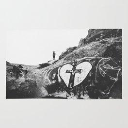 Healing for a Broken Heart Rug