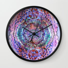 Stain 10 Wall Clock