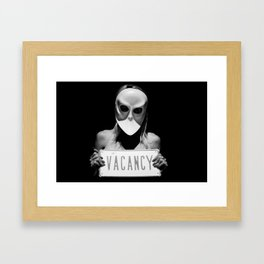i was never any good at using your imagination Framed Art Print